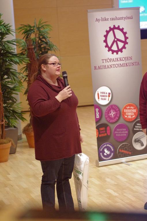 [Tapahtumat] Tanja Pelttari Lappeenrannassa (15.01.13)