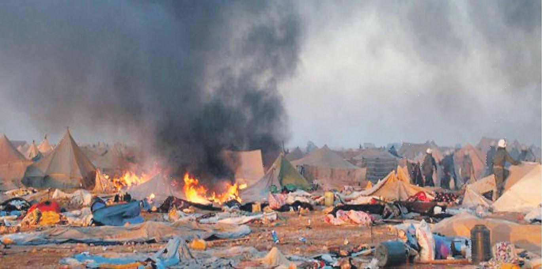 Sodan uhka leijuu Pohjois-Afrikassa
