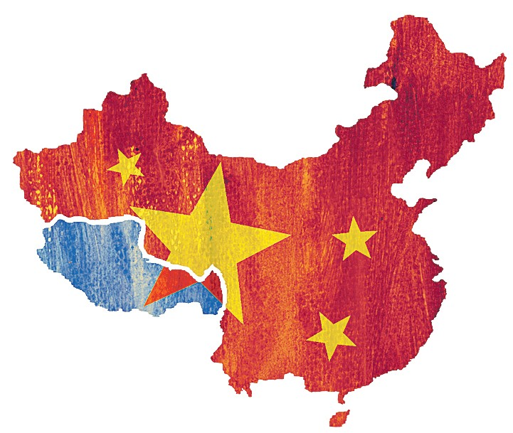 Kiinan valtapolitiikka Tiibetin turmiona