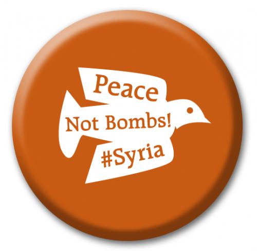 Syyrian sodan uhreja muistetaan Tehtaankadulla 11.10.2016