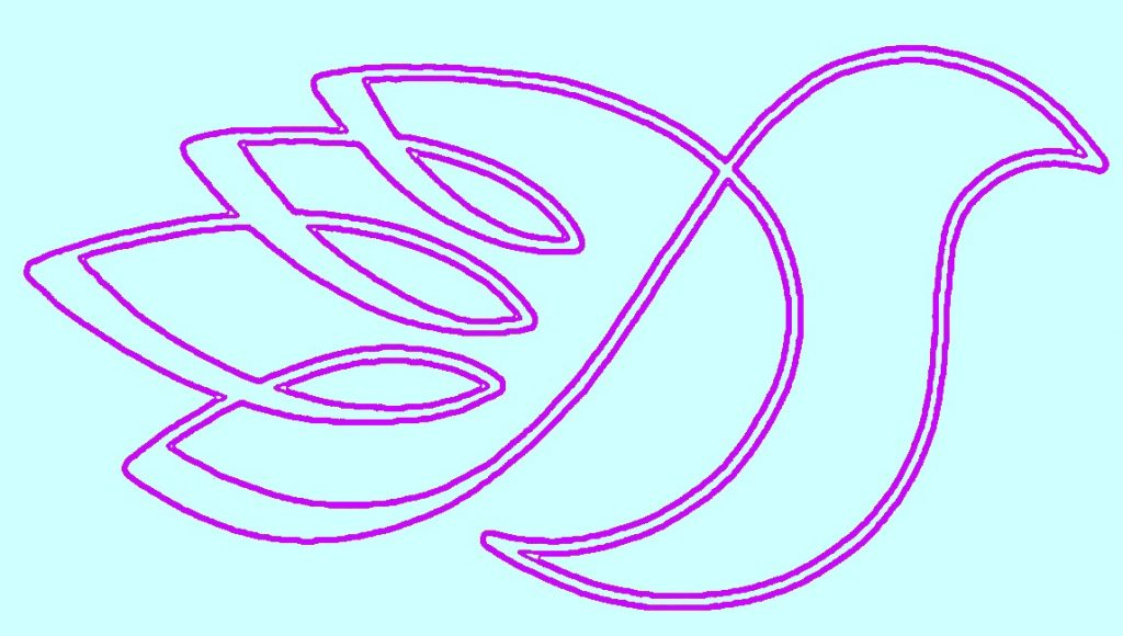 Vantaan Rauhanpuolustajien logo