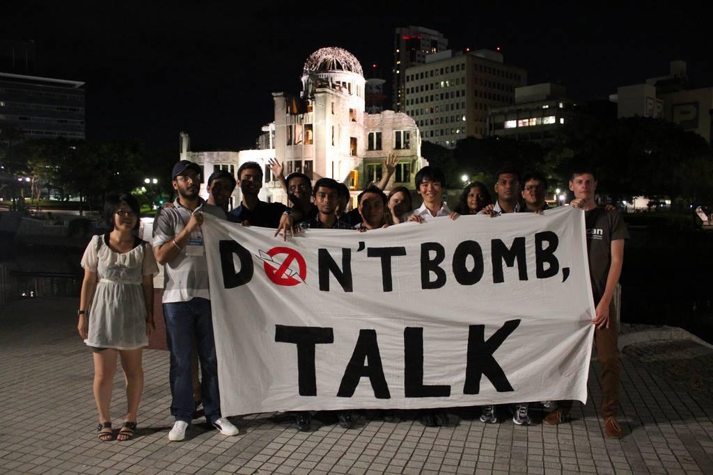dont bomb, talk