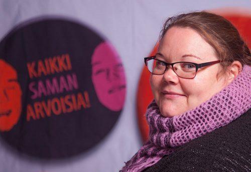 Rauhantekijä Tanja Pelttari: Lasten ja nuorten suojelija