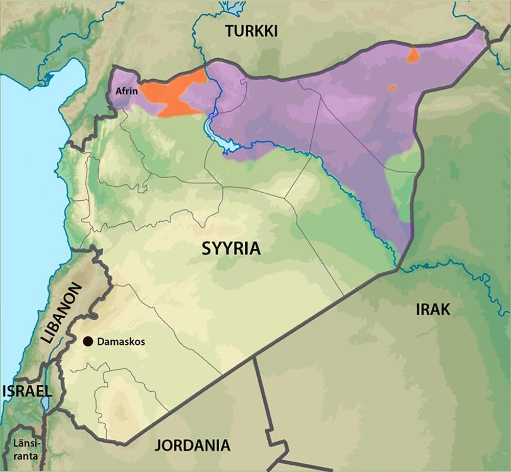 kurdi_syyria_kartta
