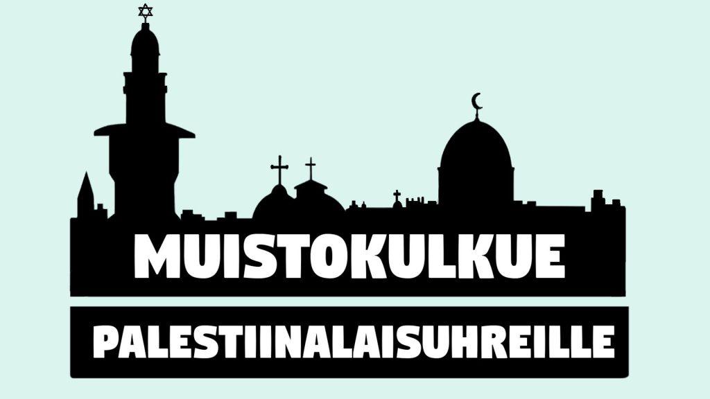 muistokulkue palestiina