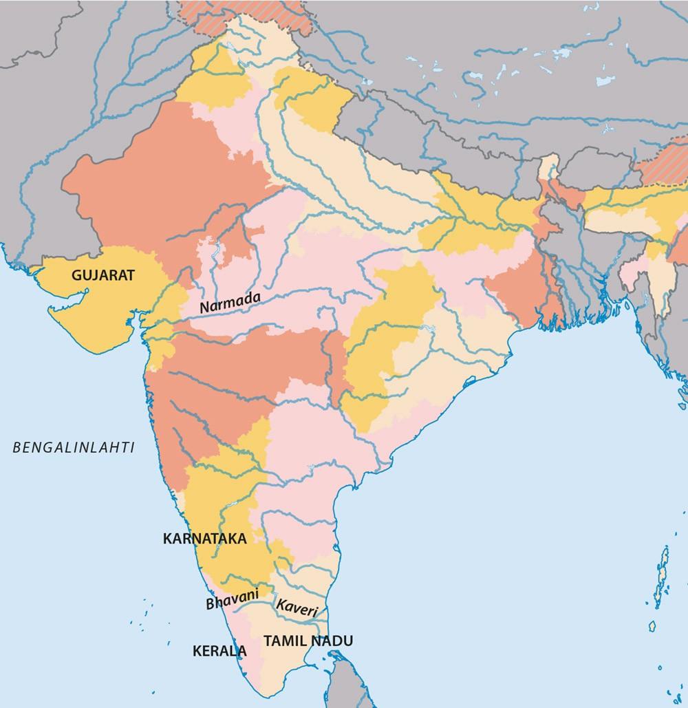 Vesi Kay Vahiin Intiassa Rauhanpuolustajat