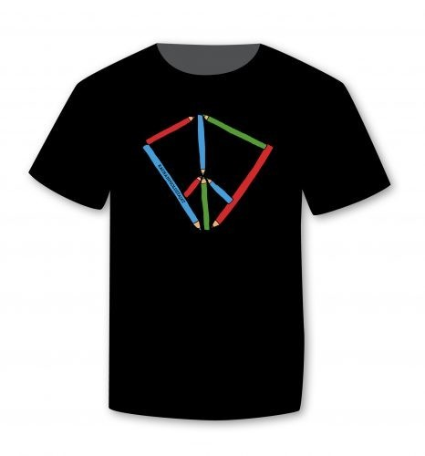 T-paita Rauhankasvatus (U), perusmalli