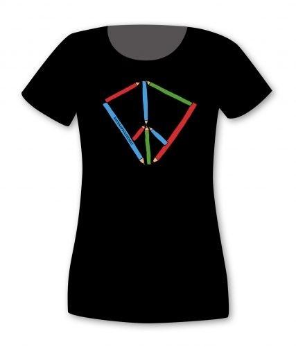 T-paita Rauhankasvatus (U), niukka malli