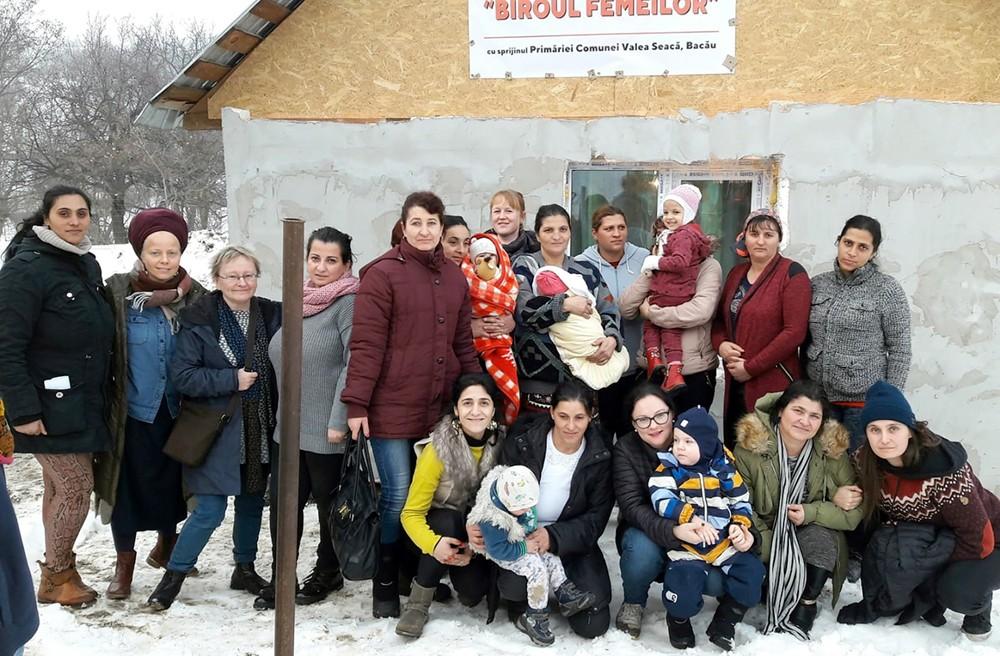 Romsk gräsrotsfeminism i Valea Seacă