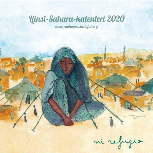 Länsi-Sahara-seinäkalenteri 2020