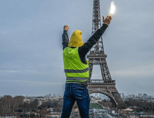 Lakkoilua ja keltaliivejä Pariisissa