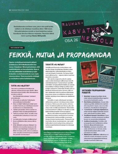 Rauhankasvatusneuvola 26: Feikkiä, mutua ja propagandaa