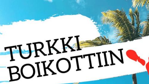 Tekstiilit, matkailu ja aseet – Turkki boikottiin!