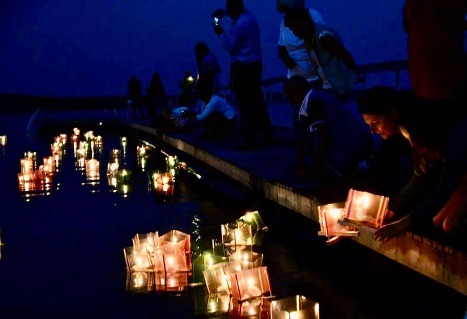 Hiroshima-päivän kynttiläkulkue, Loviisa