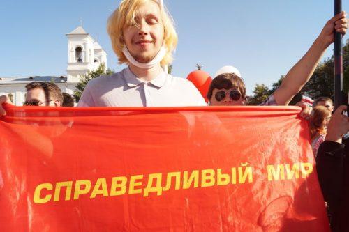 Kansa nousi kapinaan Valko-Venäjällä