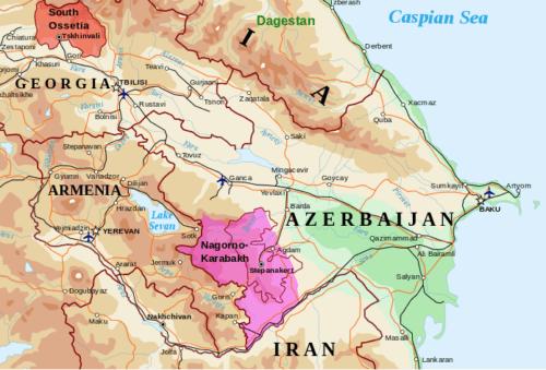 Taisteluita Vuoristo-Karabahissa pohjustettiin jo aiemmin syksyllä