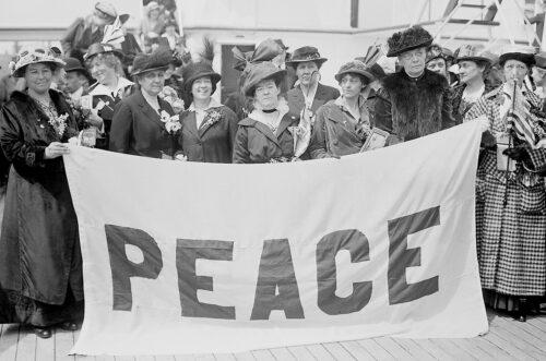 Näin kehittyi rauhanliike