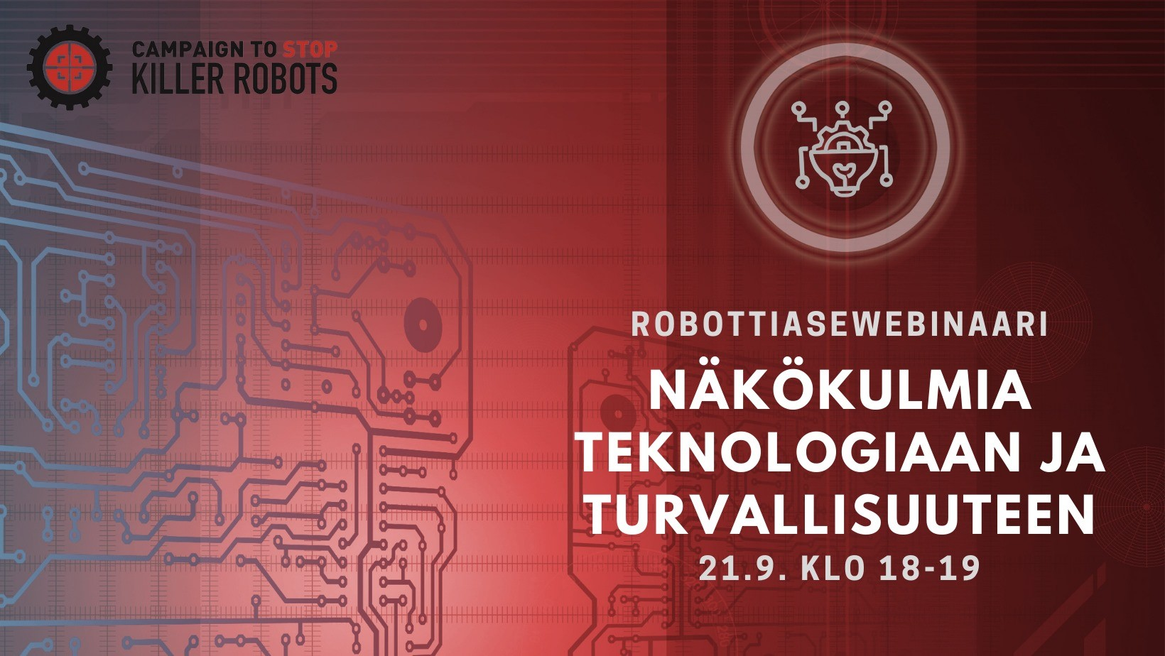 Robottiasewebinaari: näkökulmia teknologiaan ja turvallisuuteen