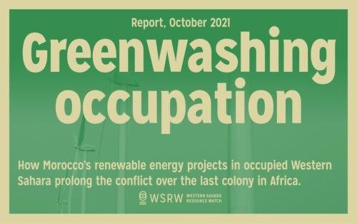 Marokko kaunistelee Länsi-Saharan miehitystä satsaamalla uusiutuvaan energiaan alueella