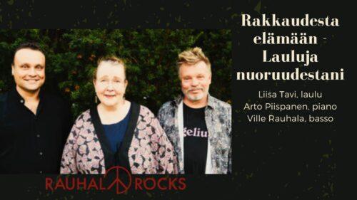 Konsertti: Rakkaudesta elämään – lauluja nuoruudestani, Turku